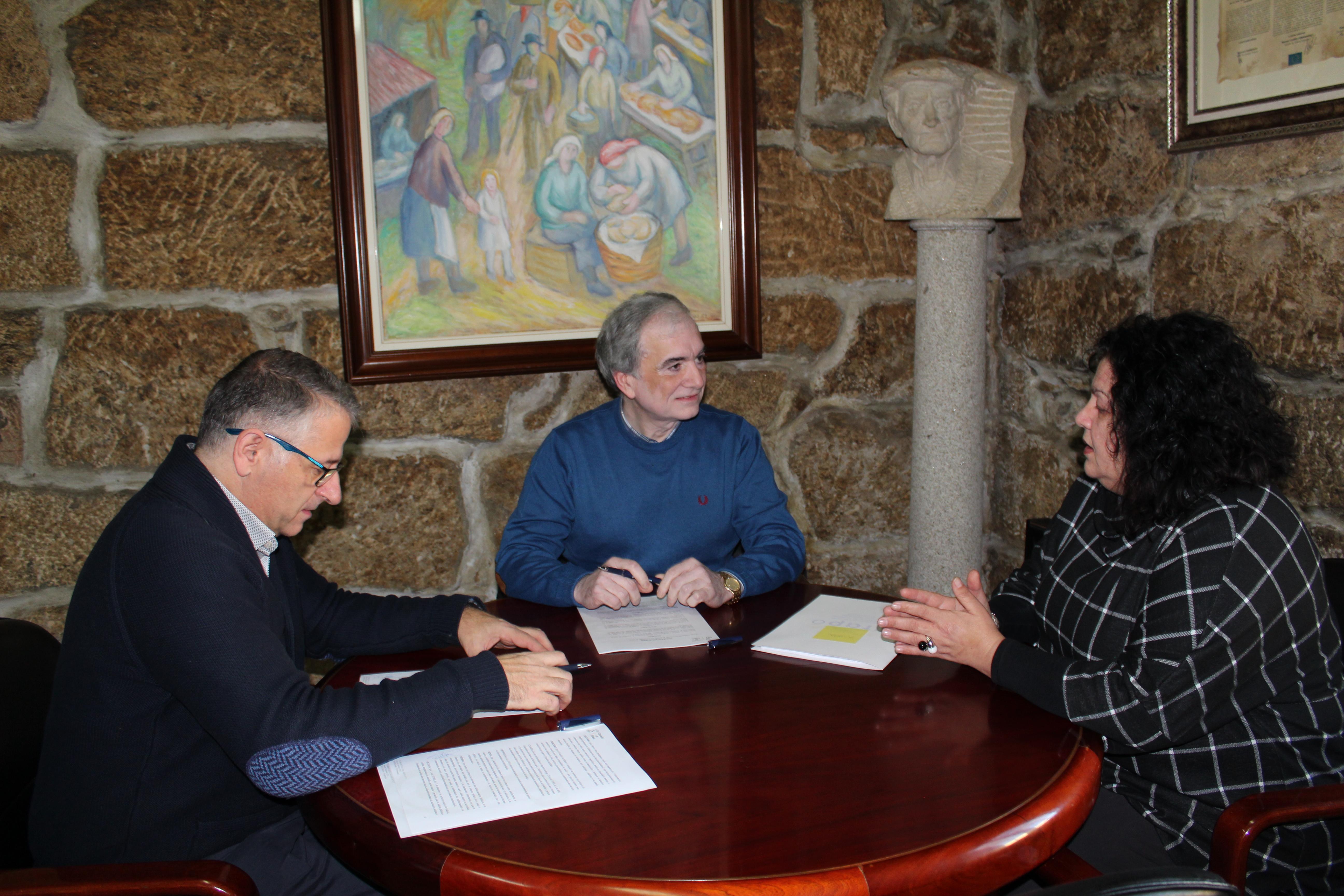 Silleda renova o convenio con Afapo para continuar co Programa de Atención Integral a Persoas con Alzheimer e as súas familias