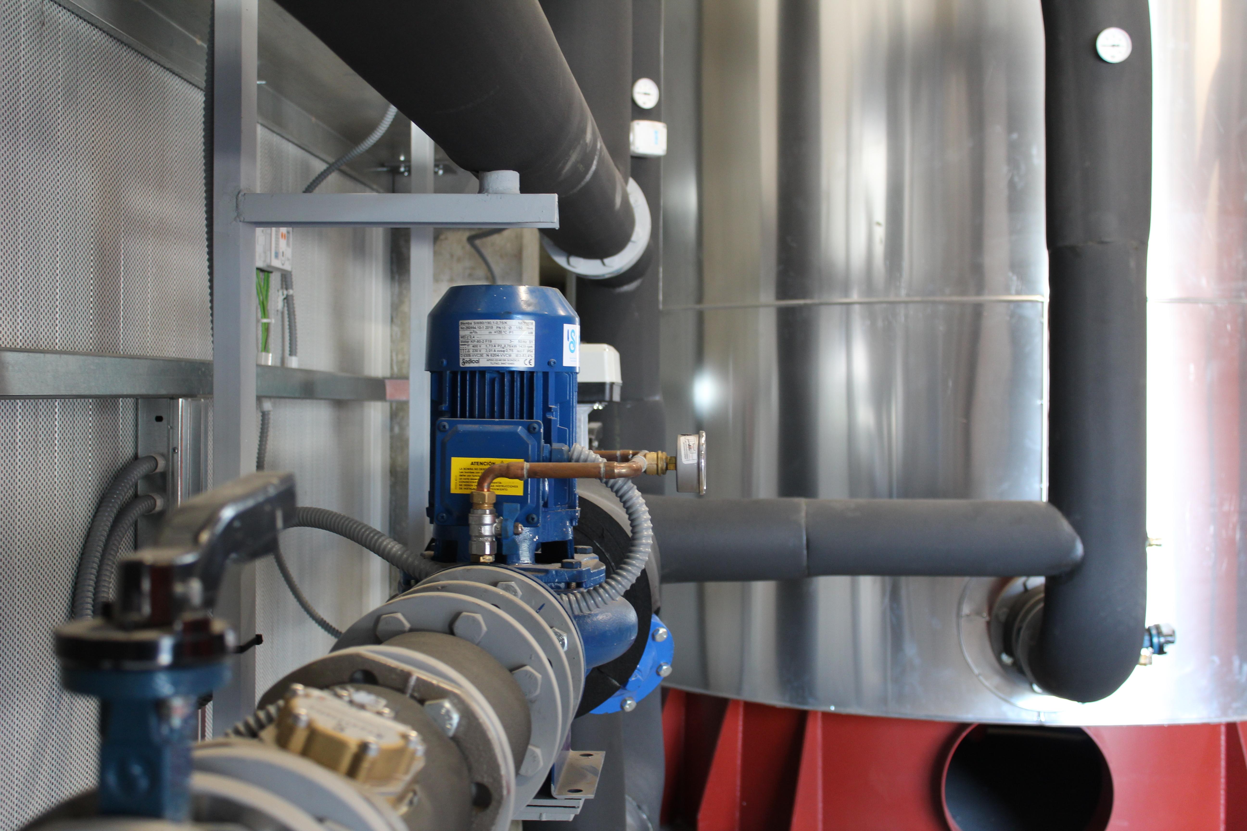 A Rede de Calor con Biomasa, premio Galicia de Enerxía ao mellor proxecto de enerxías renovables