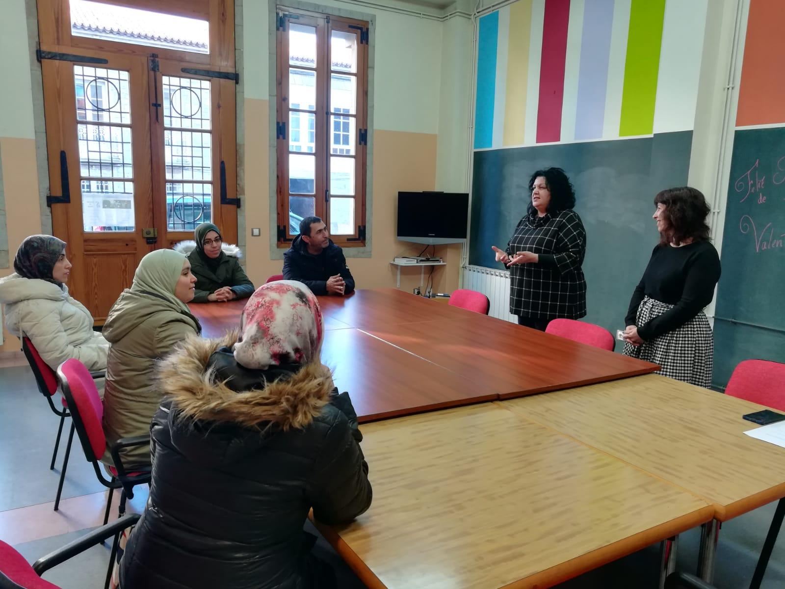 O Concello de Silleda pon en marcha o programa Anduriña, con clases de español para inmigrantes
