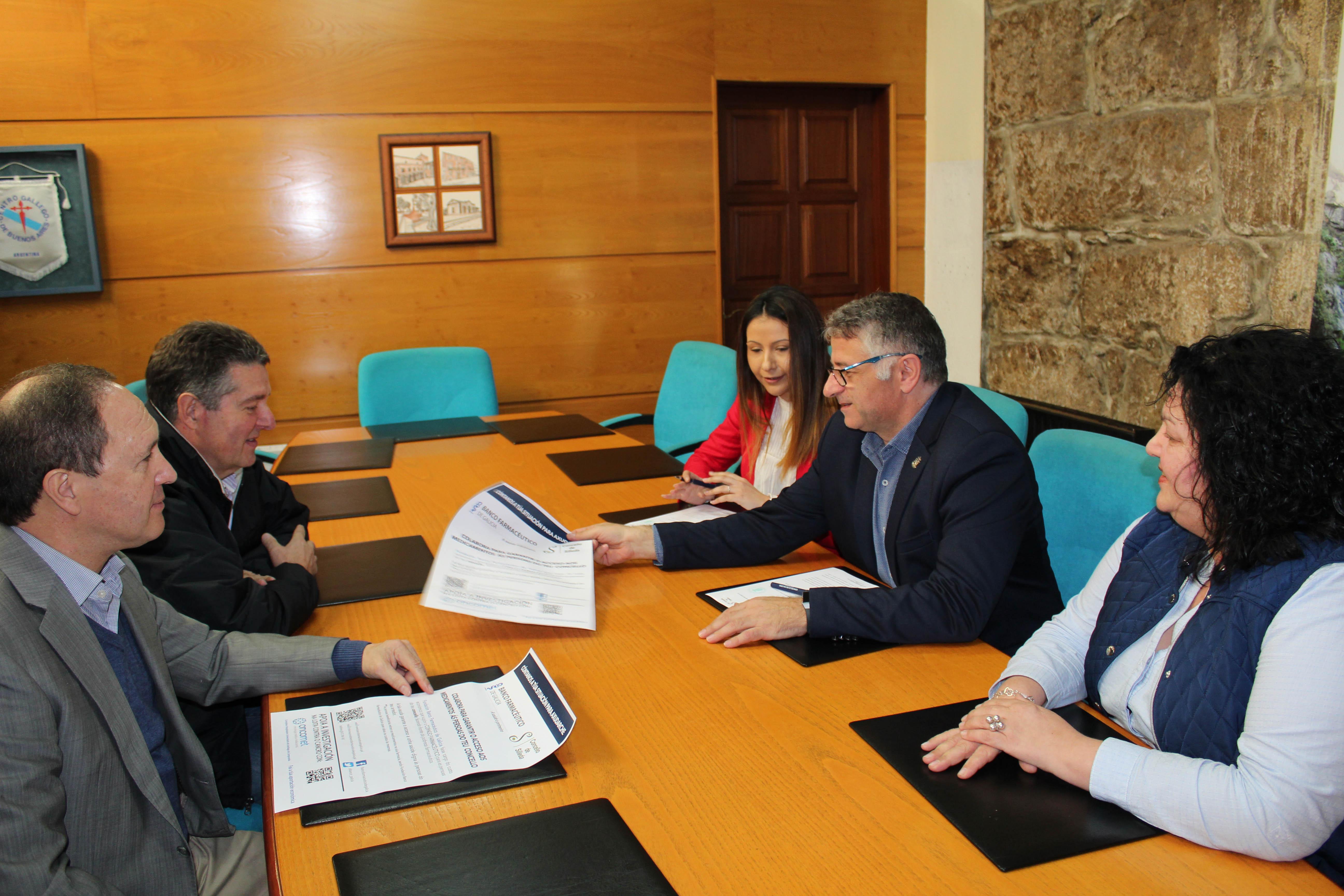 O Concello de Silleda, pioneiro en colaborar ca Fundación Banco Farmacéutico de Galicia
