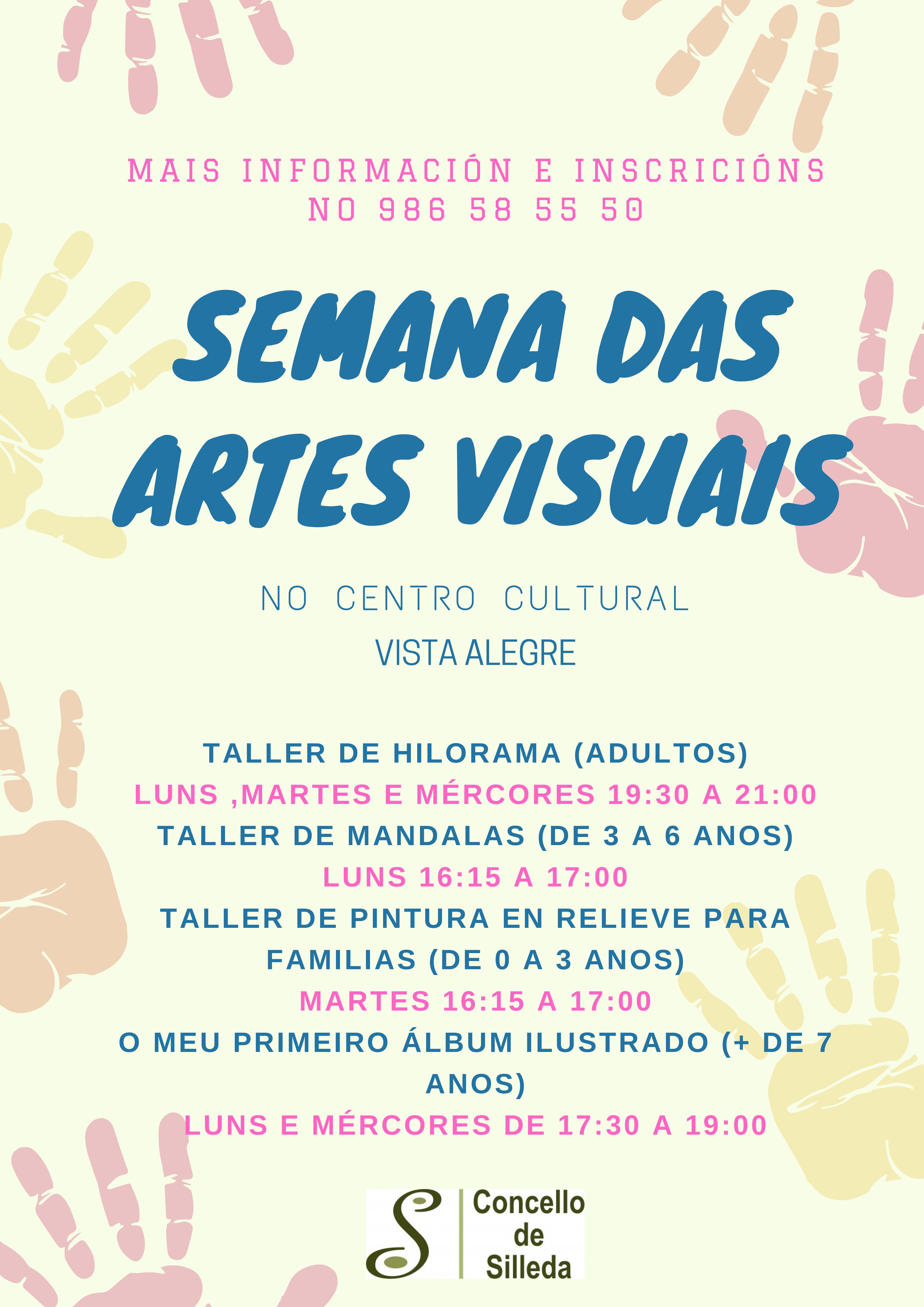A Concellería de Cultura celebrará a semana das Artes Visuais no Centro Cultural Vista Alegre