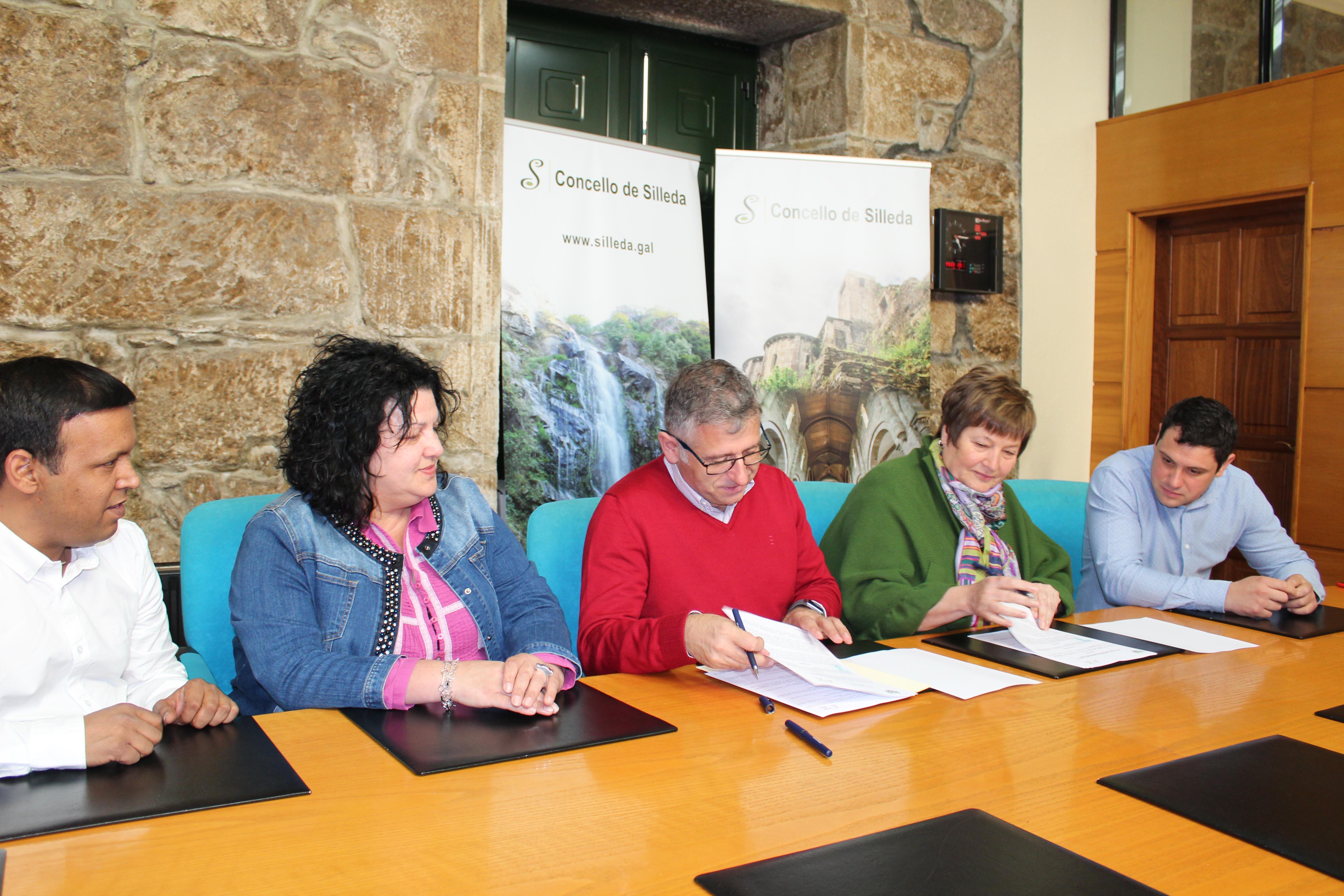 O Concello de Silleda amplia a colaboración coa Asociación Solidariedade Galega co Pobo Saharaui