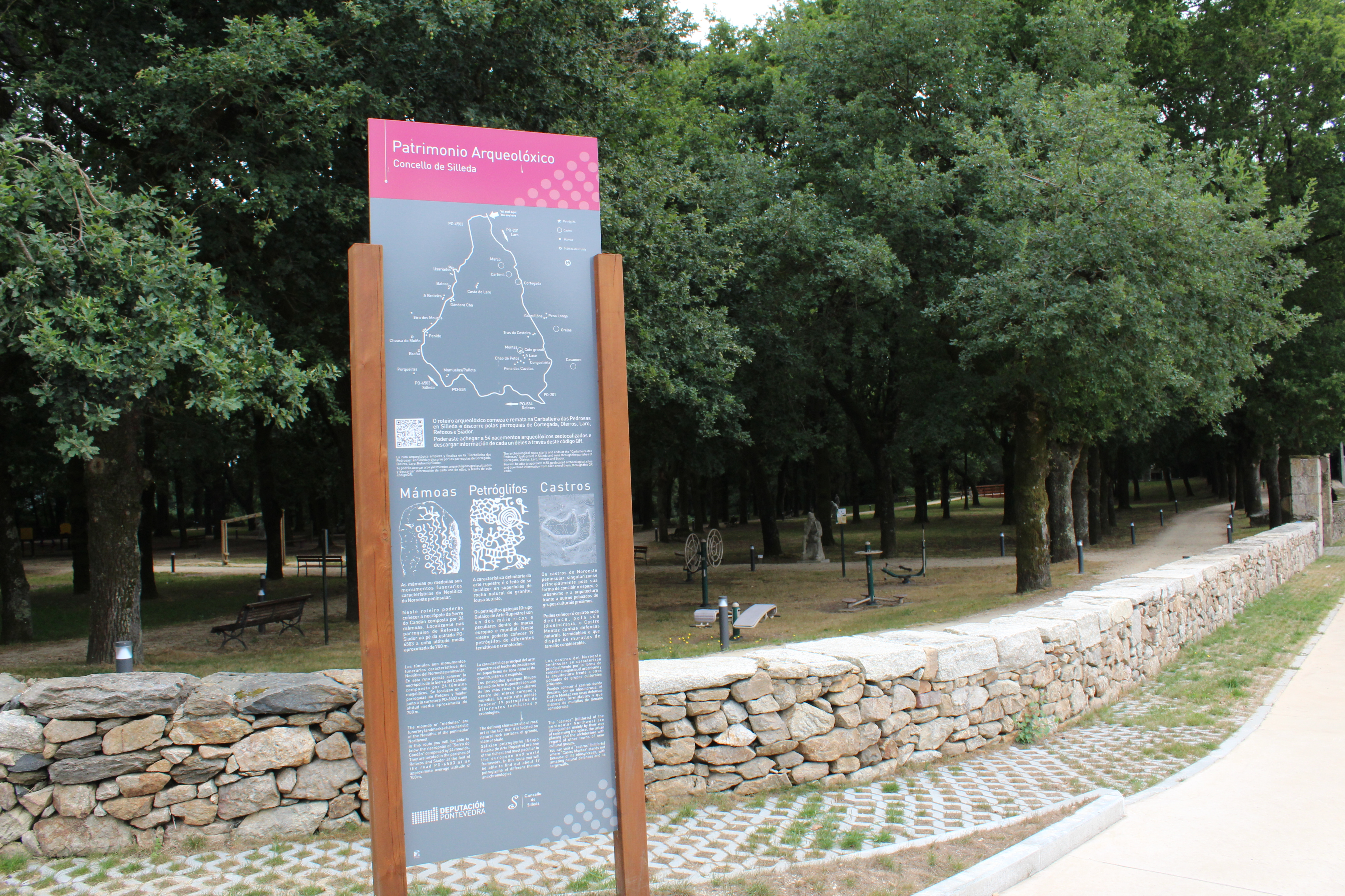 A Deputación de Pontevedra outorga ao  Concello de Silleda unha  nova subvención para a posta en valor de xacementos arqueolóxicos e elementos etnográficos na zona de Laro