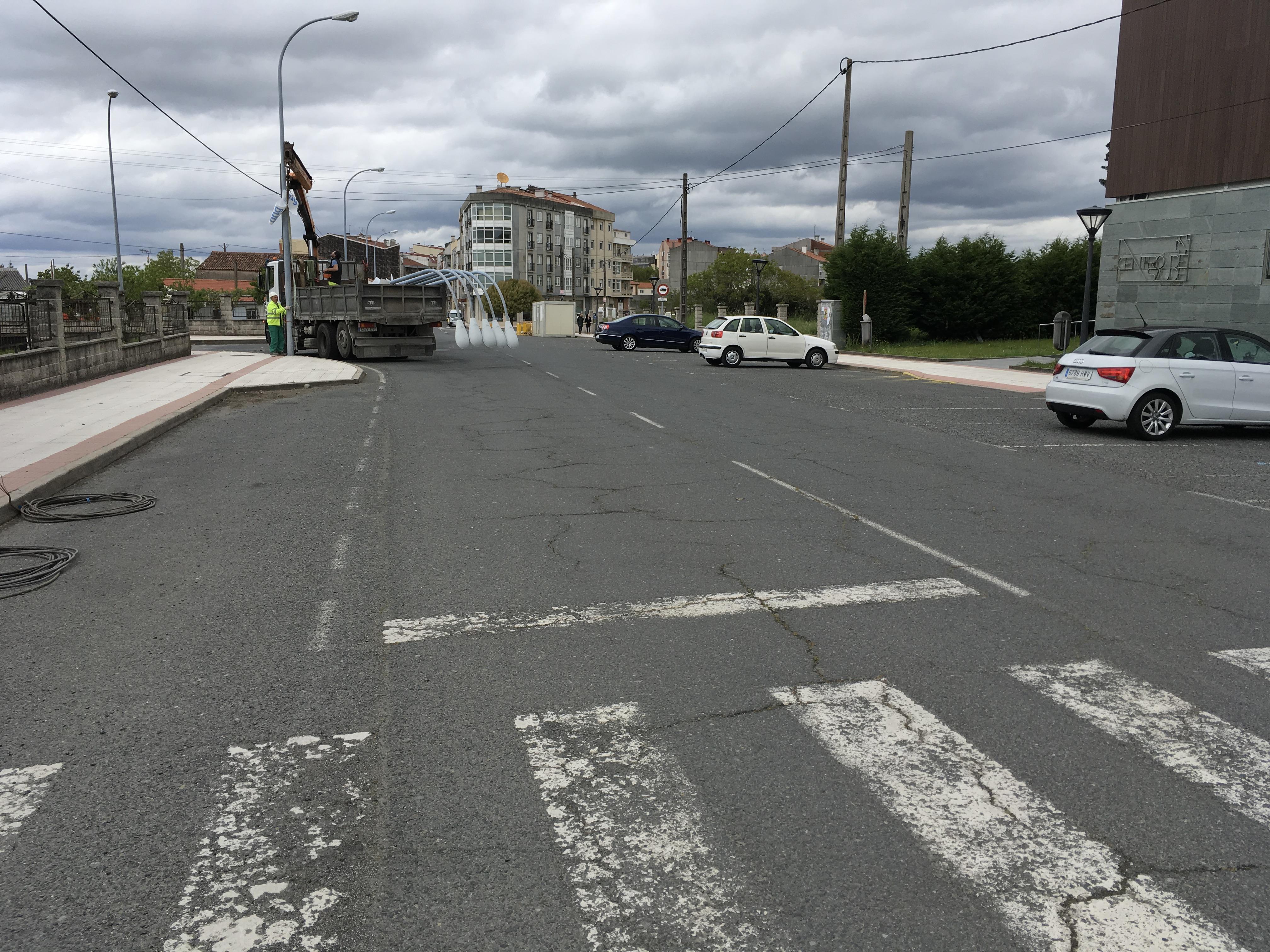 Comezan as obras de urbanización da rúa Chousa Nova de Silleda cunha inversión de case 500.000 euros a través de Depo Remse