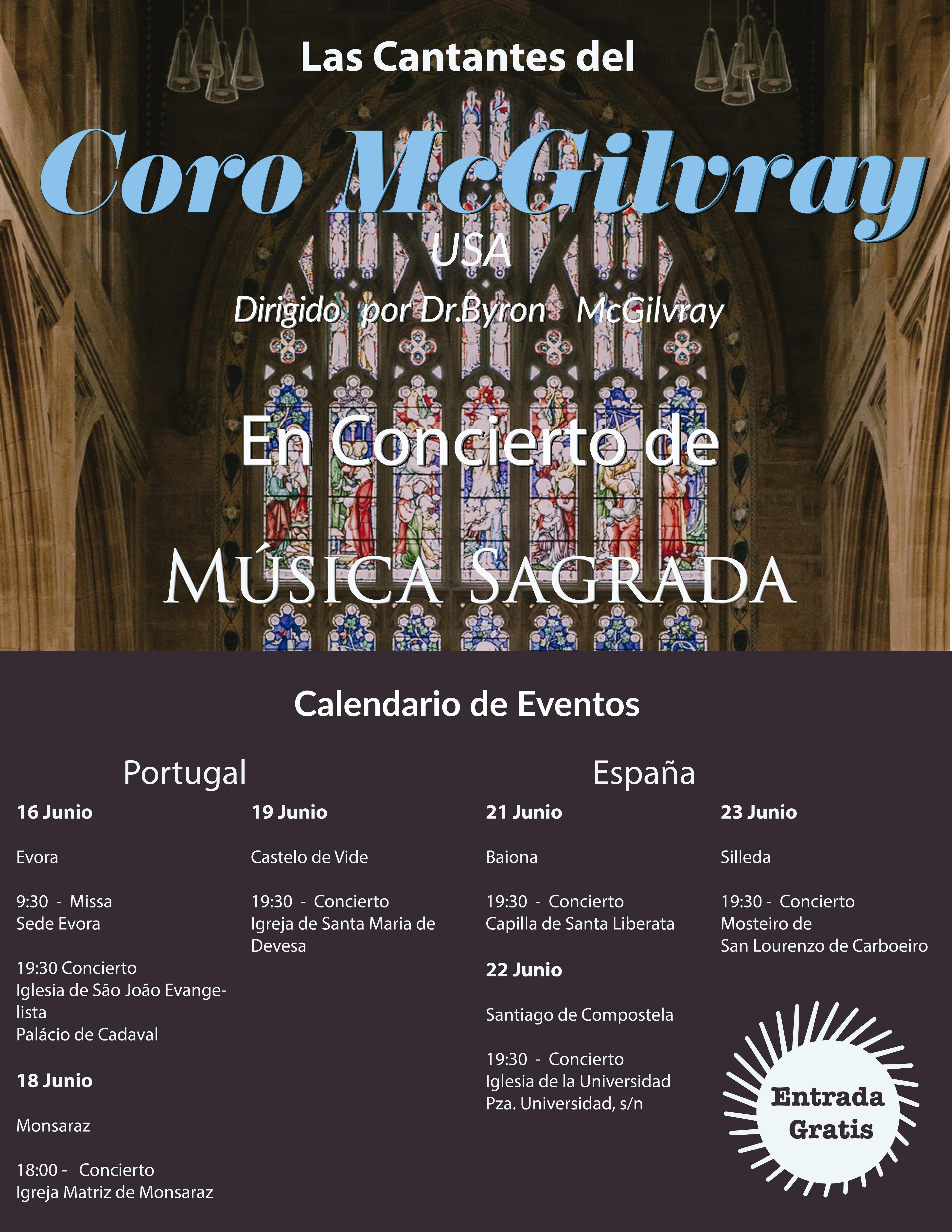 Carboeiro acolle o domingo 23 o concerto de música saca do coro feminino estadounidense The Ladies of the MacGilvray Chorale