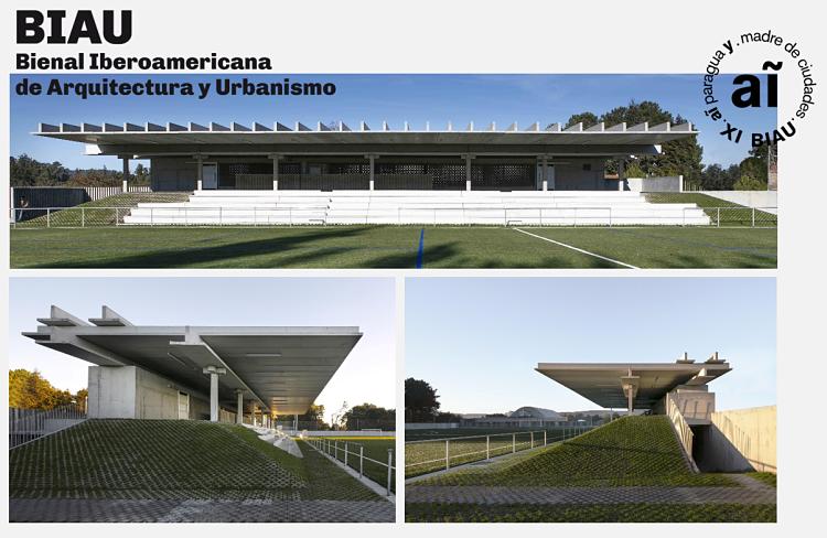 A obra da Gandareira, premio Panorama de Obras na XI Bienal Iberoamericana de Arquitectura e Urbanismo, celebrada en Paraguay