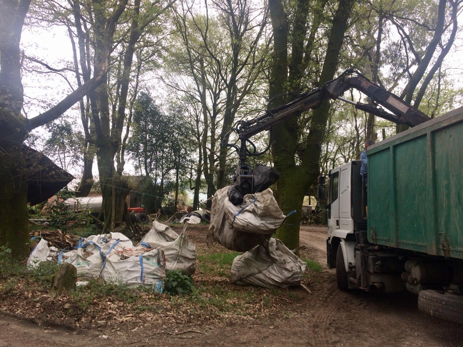 O Concello de Silleda retirou este ano preto de 100.000 kilos de plásticos agrícolas