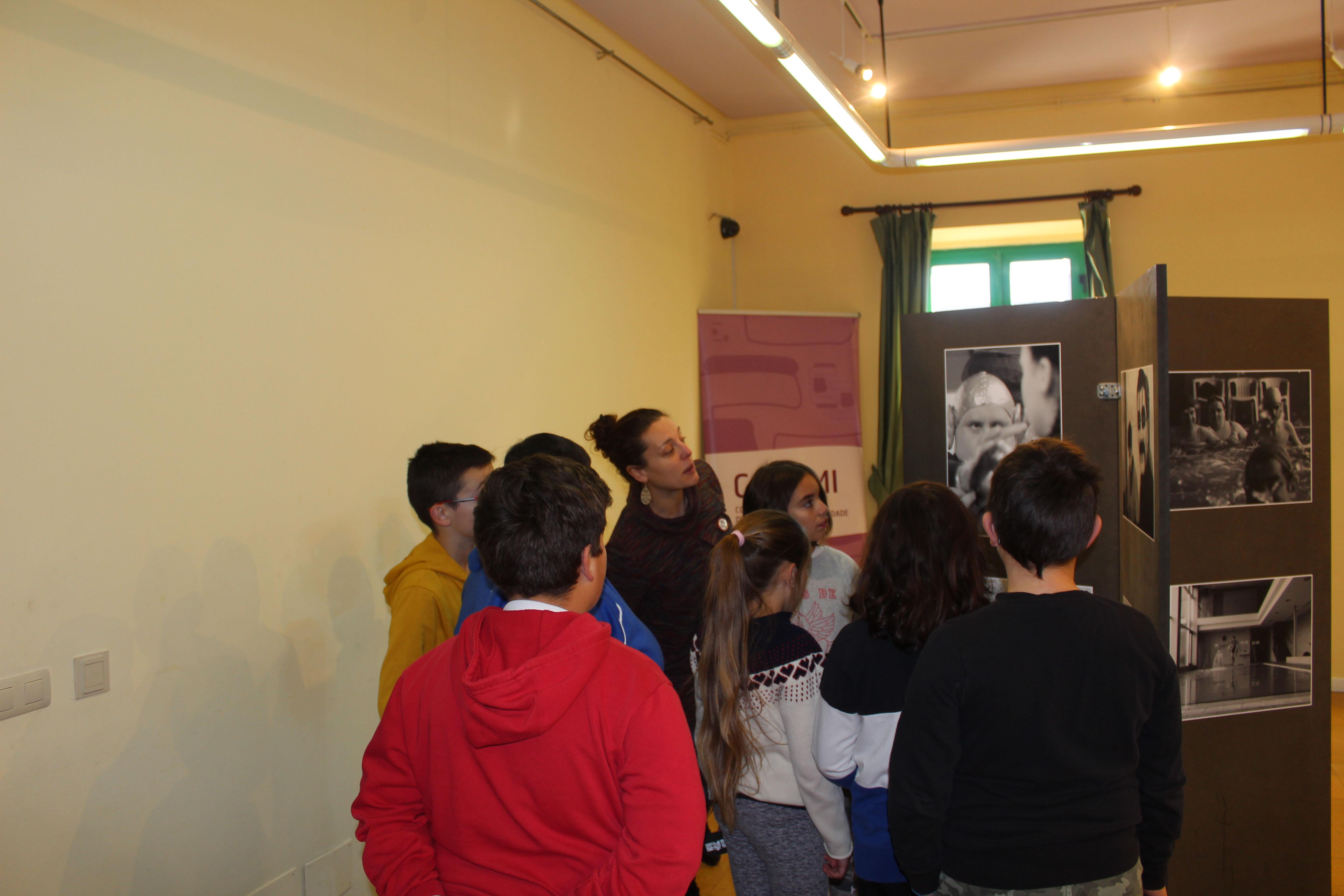 Éxito da xornada CoñeceNOS con escolares silledenses e o CRD Medelo de COGAMI
