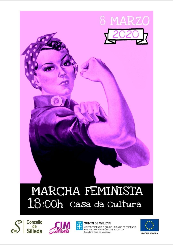 O Concello de Silleda convoca de novo unha marcha feminista para a xornada do 8-M