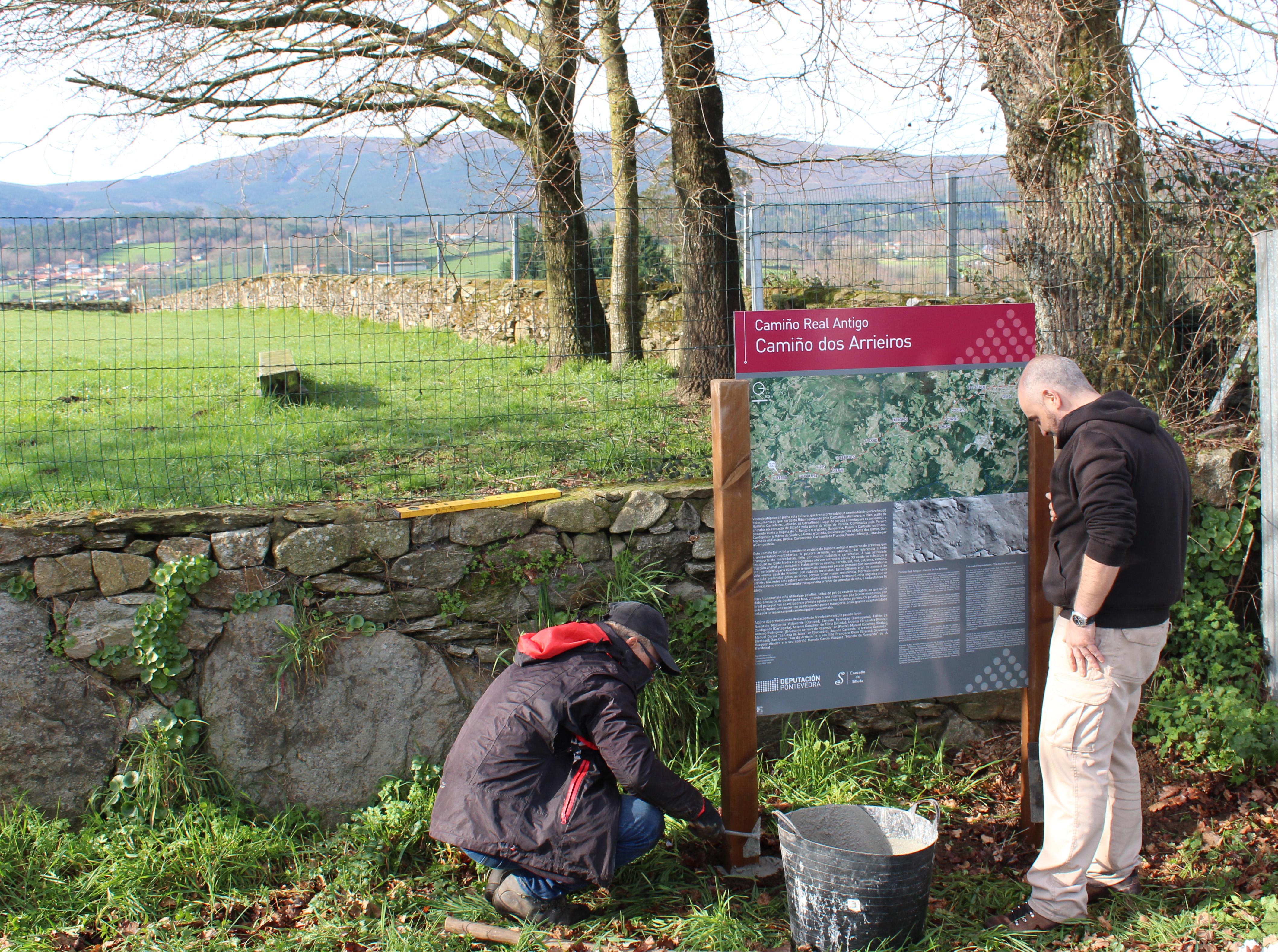 O Concello de Silleda pon en valor os elementos arqueolóxicos e etnográficos na zona de Laro