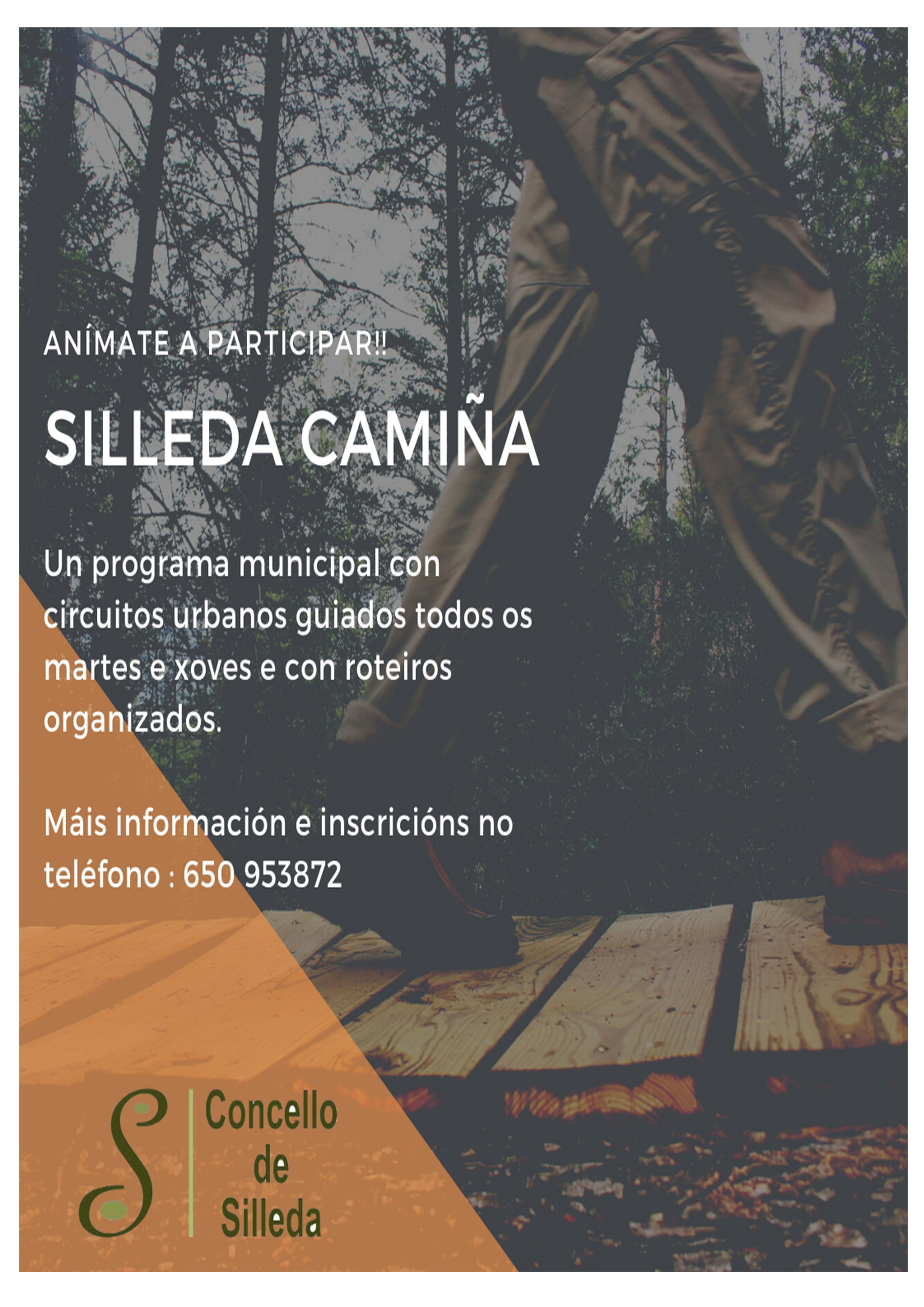 Nace o programa 'Silleda Camiña' con circuitos urbanos semanais e roteiros polo municipio