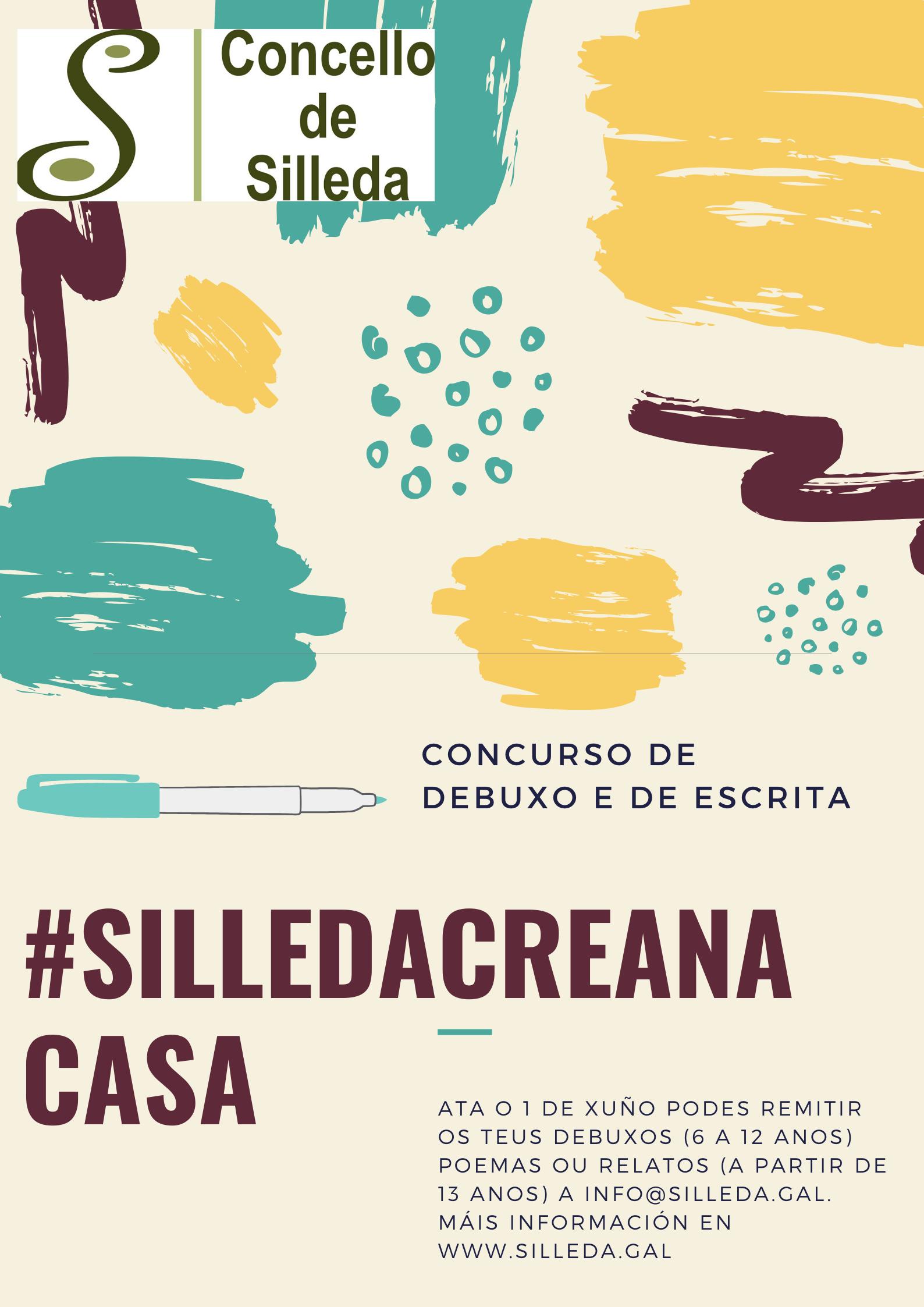 O Concurso #SilledaCreanaCasa, de debuxo e escrita, repartirá 2.000 euros en premios para gastar no comercio local