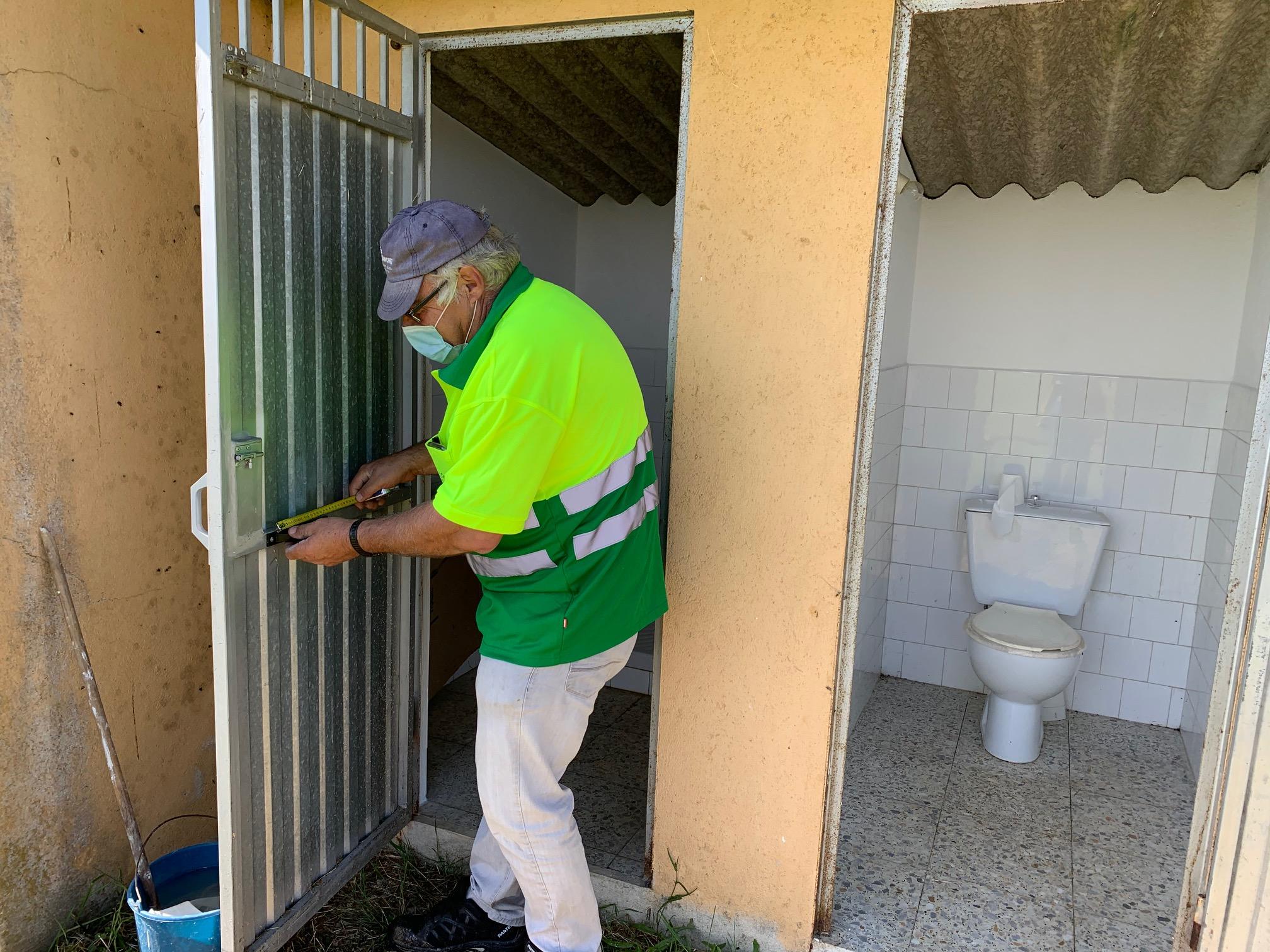 O Concello de Silleda acomete traballos de mellora no campo de fútbol de Mularedos