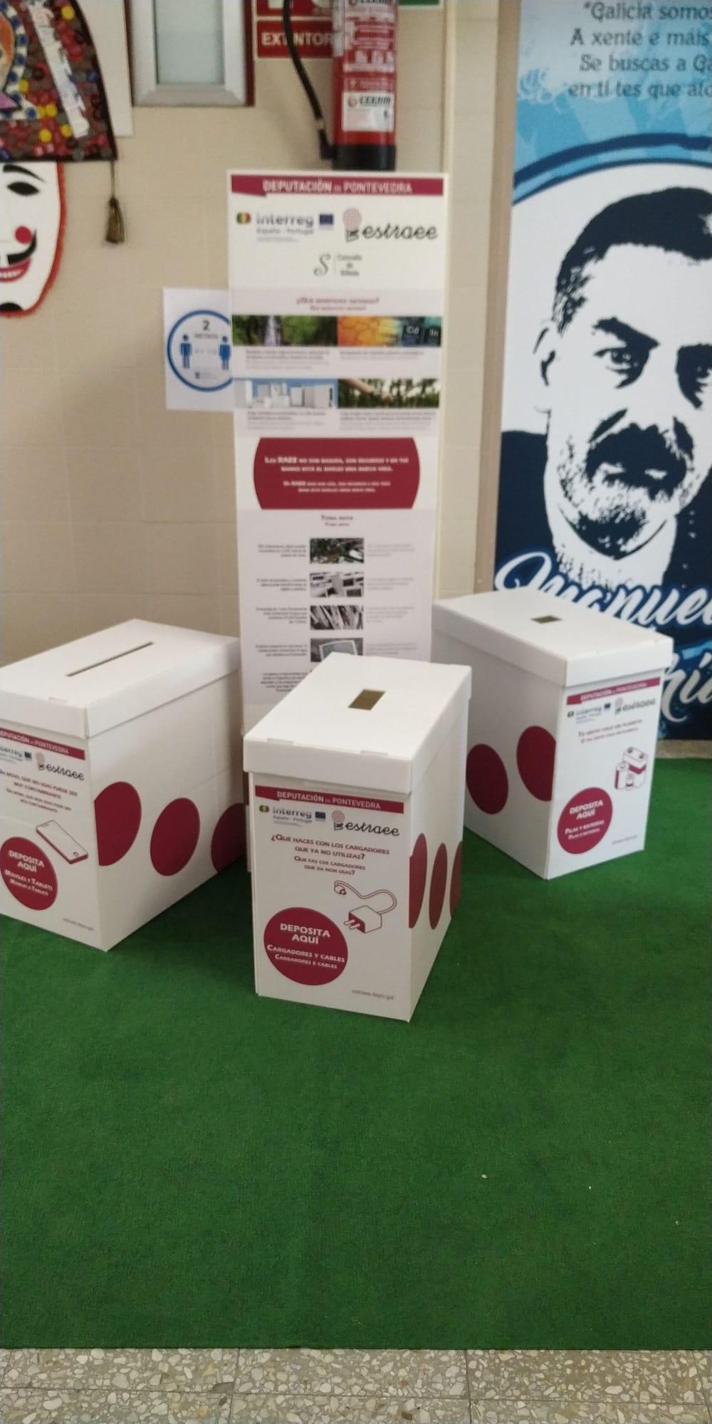 O Mini Eco Punto Limpo estará nos centros escolares do municipio a partir da vindeira semana