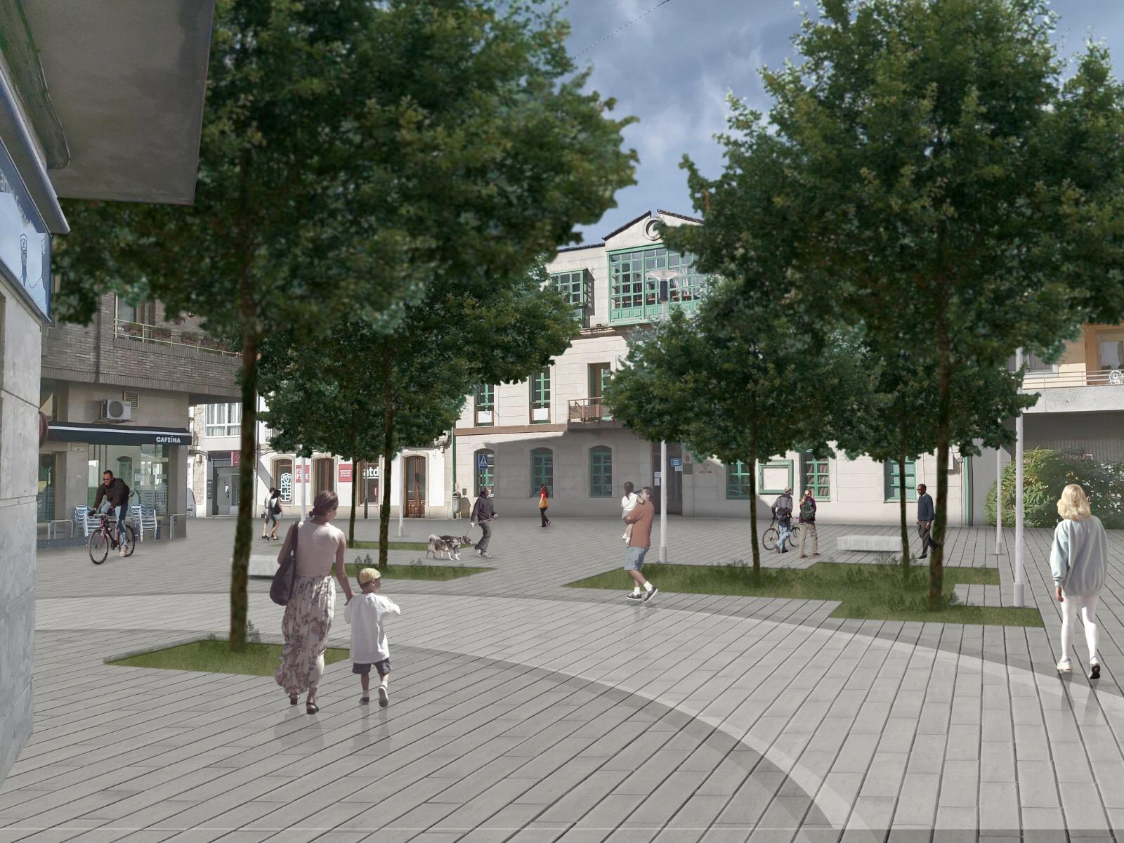 O Concello de Silleda expón un avance da remodelación da rúa Progreso