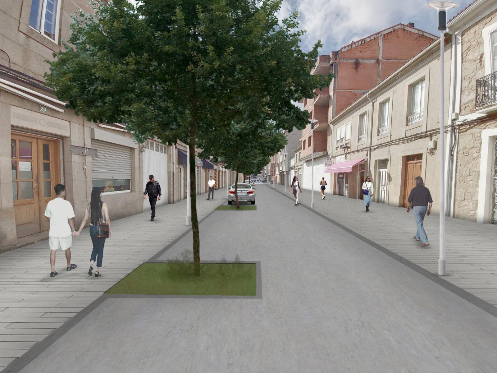 Aprobados os pregos de contratación da obra de remodelación da rúa Progreso