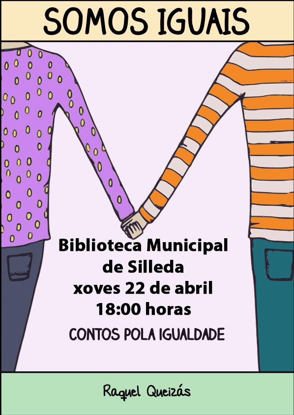 Silleda celebra o Día do Libro ca sesión de contos pola Igualdade de Raquel Queizás