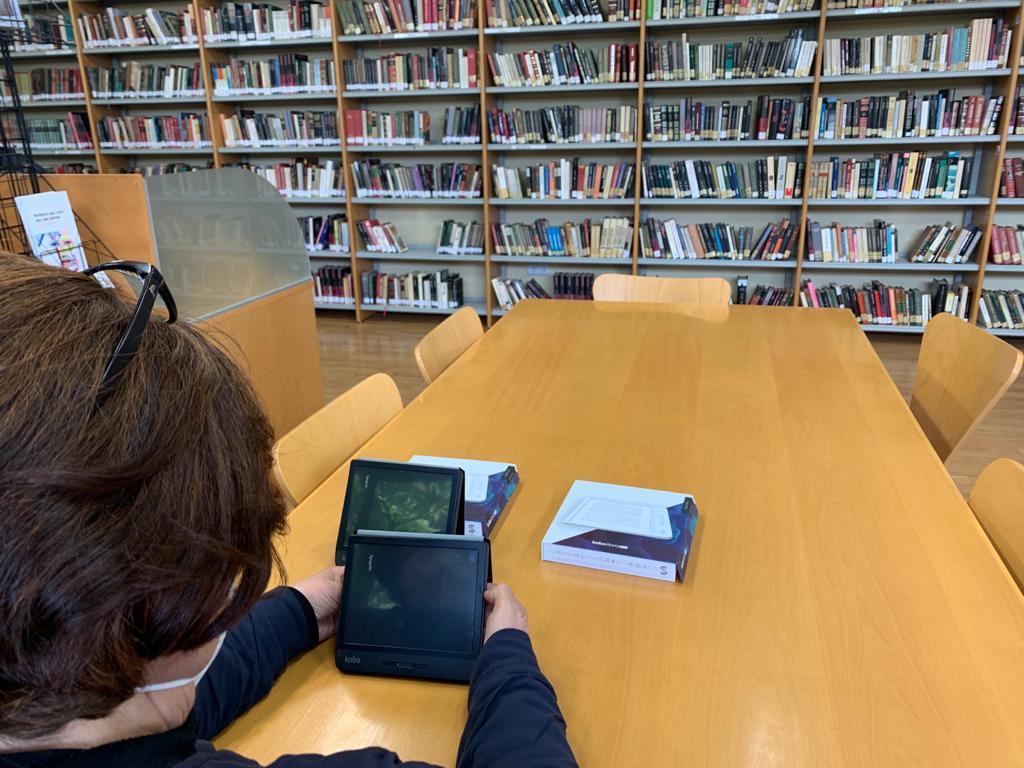 A biblioteca pública municipal de Silleda inicia o préstamo de lectores de libros electrónicos