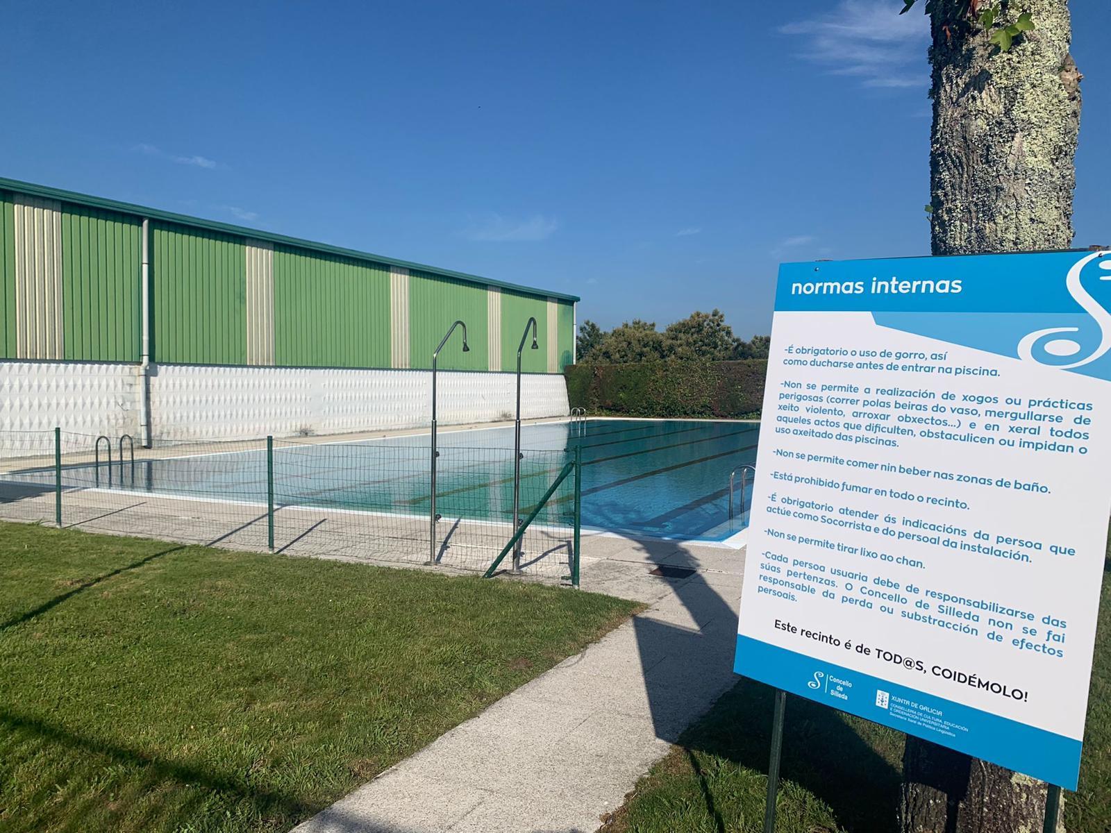 O Concello de Silleda abre mañá as piscinas municipais, con cursos de ximnasia na auga e natación para adultos como novidade